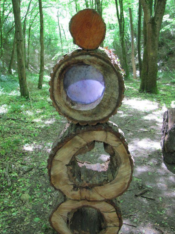 Gorneton - Promenons-nous dans le bois - Bois et résine
