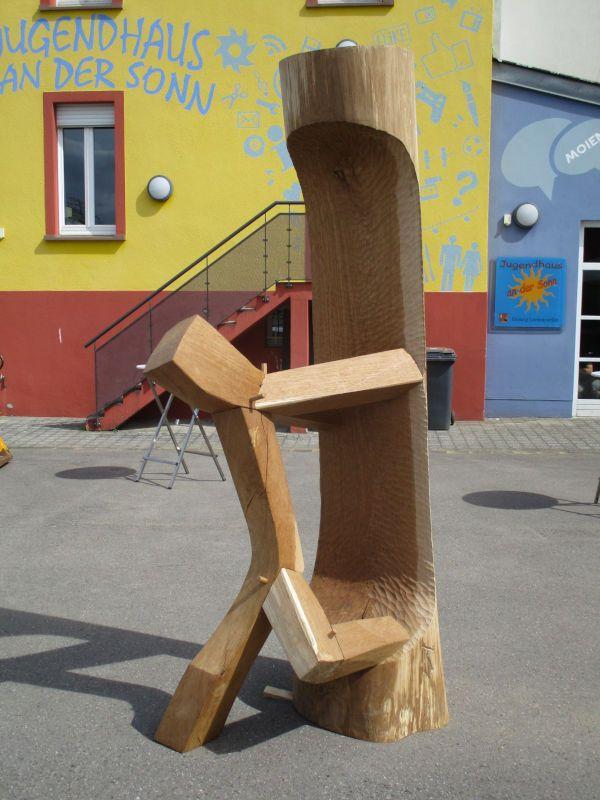 L'autre, bois de chêne, Lorentzweiler