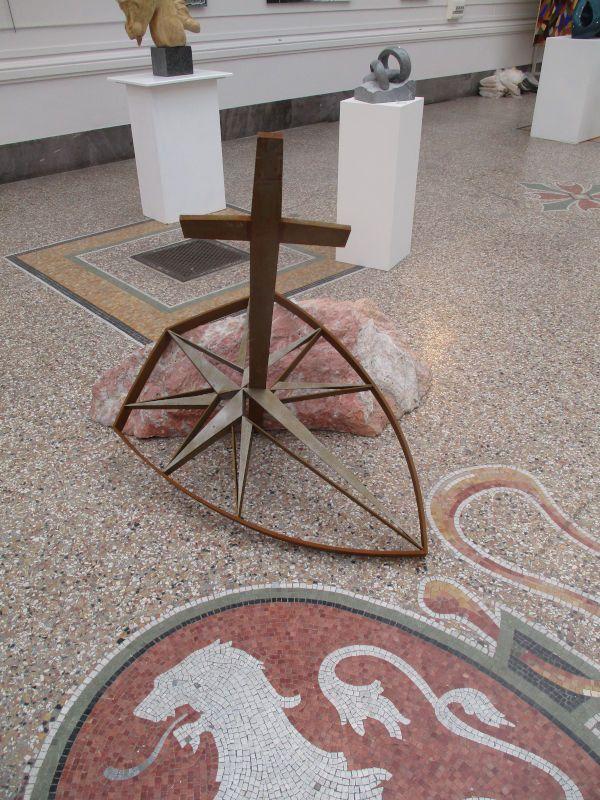 Le Faydit, fer et marbre d'Incarnat Turquin