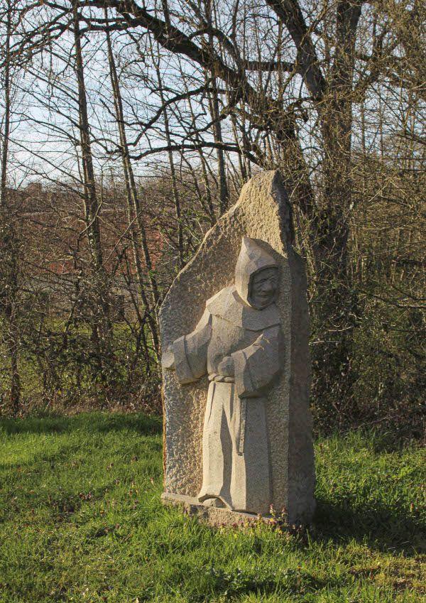 Moine, granit de Soubrebost, Bétête